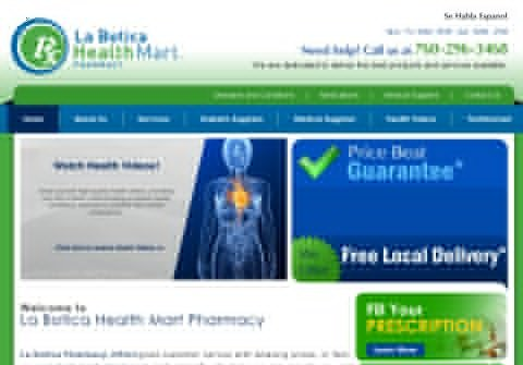 laboticapharmacy.net thumbnail