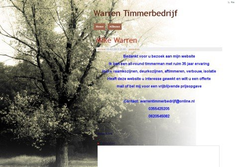 warrentimmerbedrijf.net thumbnail