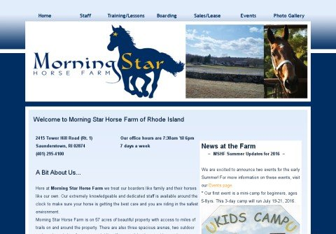 morningstarhorseri.net thumbnail