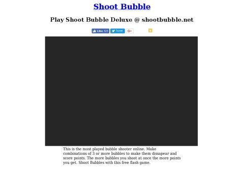 shootbubble.net thumbnail