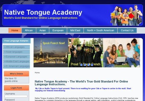 nativetongueacademy.net thumbnail