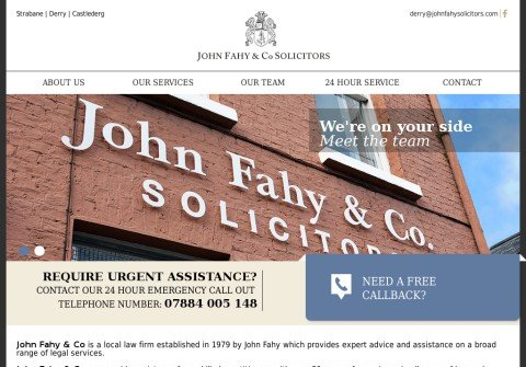 johnfahysolicitors.net thumbnail
