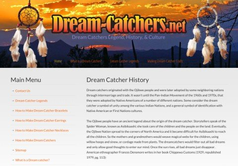 dream-catchers.net thumbnail