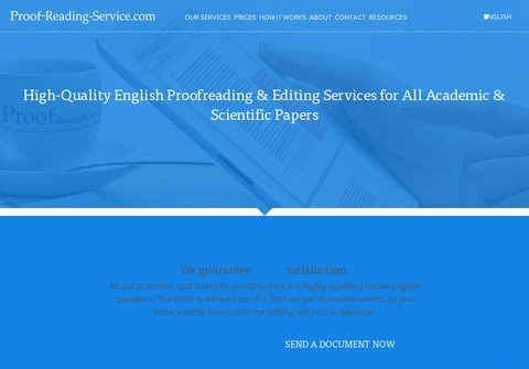 proof-reading-service.net thumbnail