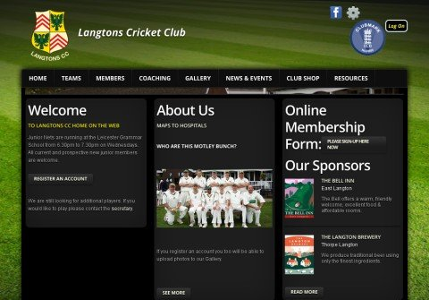 cricket-club.net thumbnail