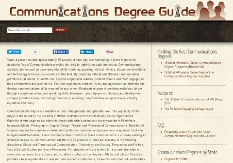 communicationsdegrees.net thumbnail