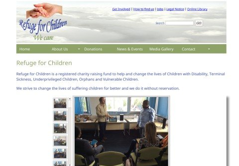 refugeforchildren.org thumbnail