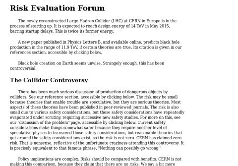 risk-evaluation-forum.org thumbnail