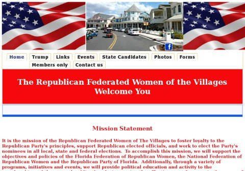 republicanfederatedwomenofthevillages.org thumbnail