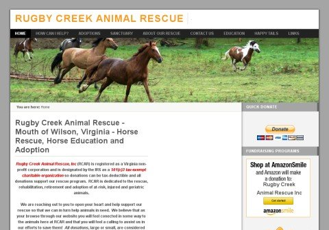 rugbycreekanimalrescue.org thumbnail