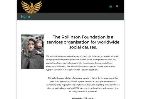 whois rollinsonfoundation.org