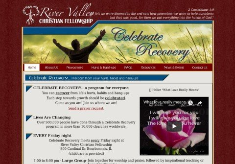 rvcfcelebraterecovery.org thumbnail