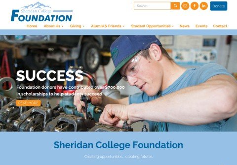 whois sheridancollegefoundation.org