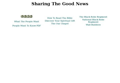 sharingthegoodnews.org thumbnail
