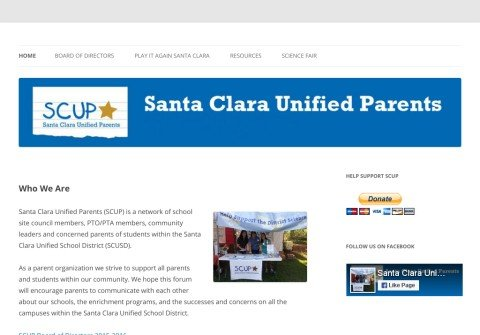 scunifiedparents.org thumbnail