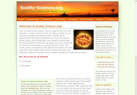 scotty-science.org thumbnail