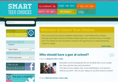 smartteenchoices.org thumbnail