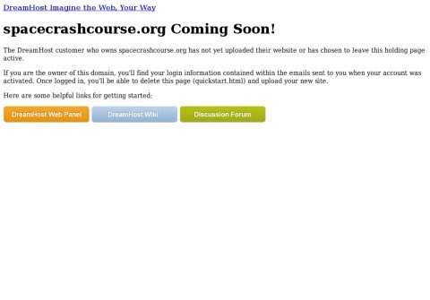 whois spacecrashcourse.org