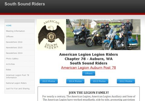 southsoundriders.org thumbnail