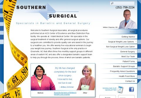 southernsurgical.org thumbnail