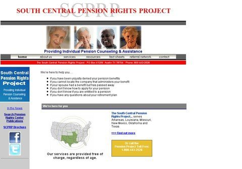 whois southcentralpension.org
