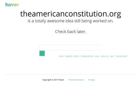 theamericanconstitution.org thumbnail