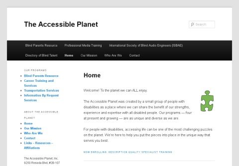 theaccessibleplanet.org thumbnail