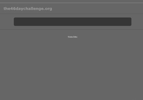 the46daychallenge.org thumbnail