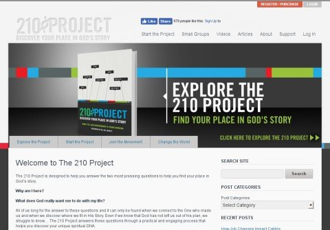 the210project.org thumbnail