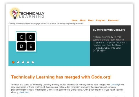 technicallylearning.org thumbnail