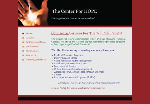 thecenterforhope.org thumbnail