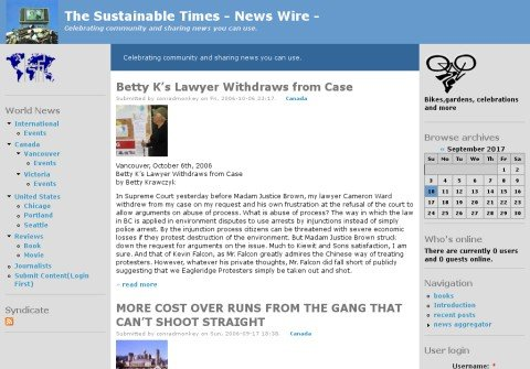 whois thesustainabletimes.org