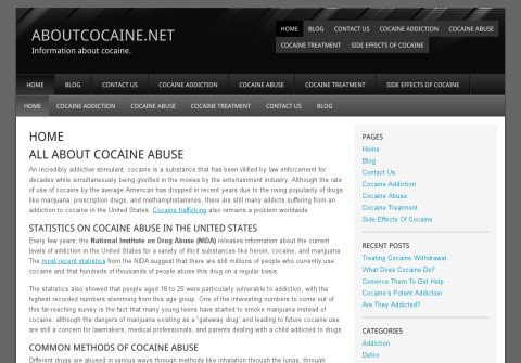 aboutcocaine.net thumbnail