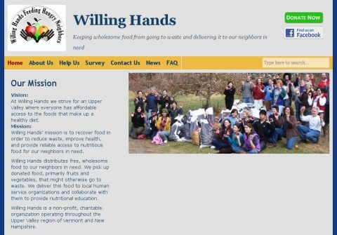 willinghands.org thumbnail
