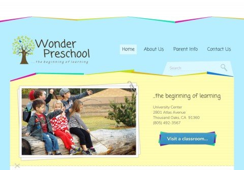 wonderpreschool.org thumbnail