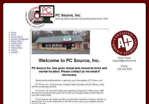 pcsourceinc.net thumbnail