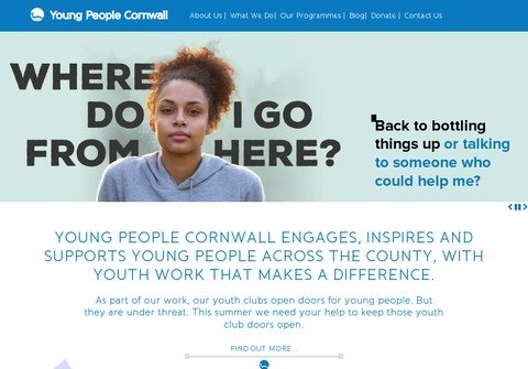 youngpeoplecornwall.org thumbnail