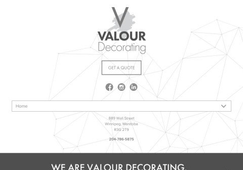 valourdecorating.com thumbnail