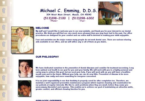 emmingdental.com thumbnail