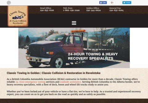 classictowing24hr.com thumbnail