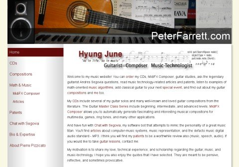 peterfarrett.com thumbnail