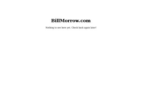 billmorrow.com thumbnail