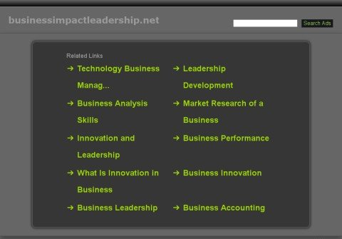 whois businessimpactleadership.net