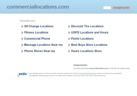 commerciallocations.com thumbnail