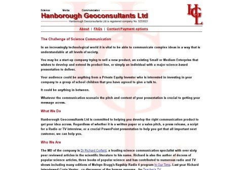 hanboroughgeoconsultants.com thumbnail
