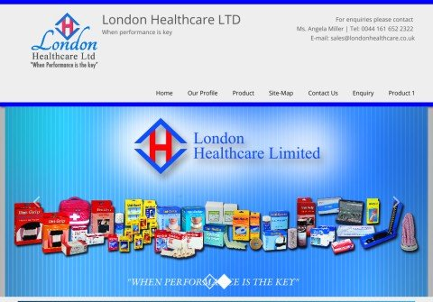 london-healthcare.com thumbnail