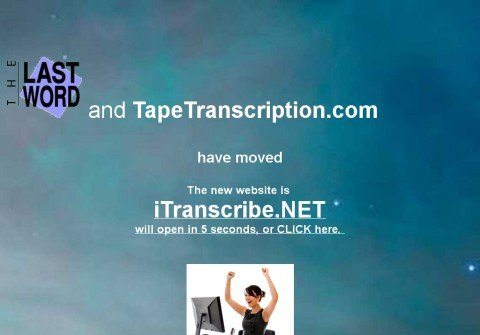tapetranscription.com thumbnail