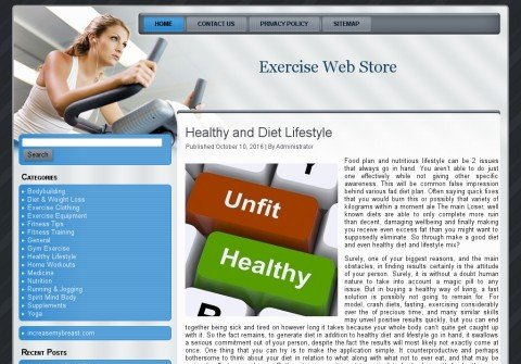 exercisewebstore.com thumbnail