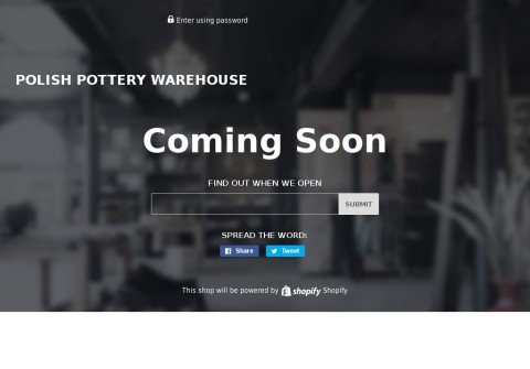 polishpotterywarehouse.com thumbnail
