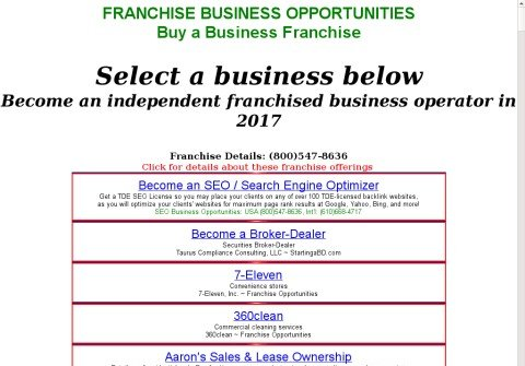 franchised-business-opportunities.com thumbnail